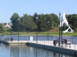 """""""Pontoninis tiltas Dauniškio ežere"""""""