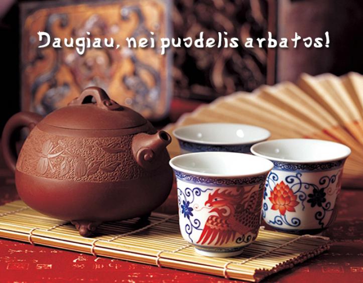 """Rytietiška arbatinė """"Arbatos Magija"""""""