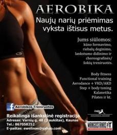 Aerobikos treniruotės Kaune