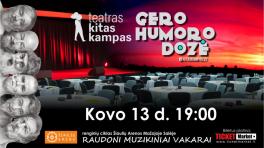 KITAS KAMPAS | ŠIAULIAI | Gera Humoro Dozė