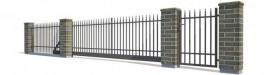 Kiemo tvoros, projektavimas, gamyba, montavimas