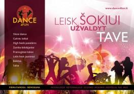 Šokių studija DANCE4FUN Kaune