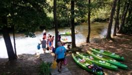 Baidarių nuoma Dzūkijoje Baltosios Ančios upe