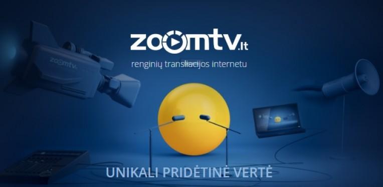Zoomtv.lt Renginių filmavimas