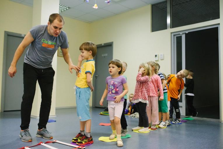 Vaikų sportas-aktyvaus gyvenimo būdo užsiėmimai