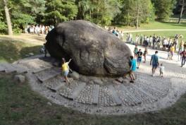 Puntuko akmuo Anykščių šilelyje