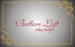 """Ballare Loft"" šokių studija"